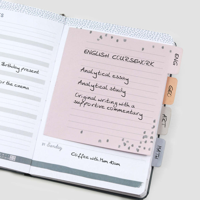 Perfect Year Sticky Notes Tabbed Note Book Haftnotizen