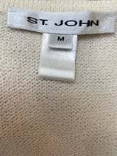 Load image into Gallery viewer, St John Size M Cream Vintage Sweater Tank