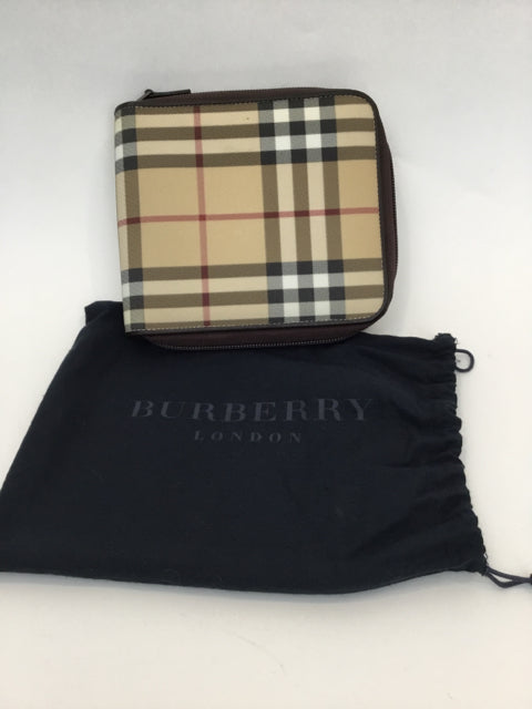 Burberry London Haymarket Check Vintage CD Case