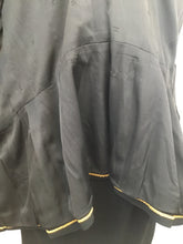 Load image into Gallery viewer, Chanel Vintage Size 42 Black Skirt Suit