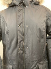 Load image into Gallery viewer, Eddie Bauer Size XL Black Parka - New With Tags!!