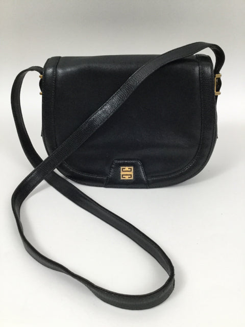 Vintage GIVENCHY Medium Black Shoulder Bag