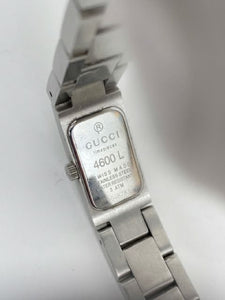 Gucci   Diamond  Stainless Steel Watch 4600L