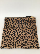 Load image into Gallery viewer, Claire Vivier Medium Leopard Folding Clutch