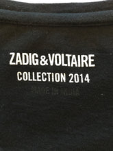 Load image into Gallery viewer, ZADIG & VOLTAIRE Size M Black Casual Top