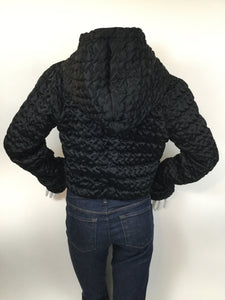 Giorgio Armani Black Label Size XS Black Shrug