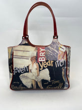 Load image into Gallery viewer, Vintage Isabella Fiore Marilyn Monroe Sever Year Itch bag