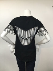 ZADIG & VOLTAIRE Size M Black Casual Top