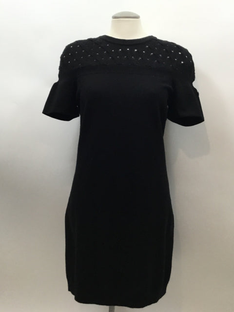 Chanel Size S Black Dress