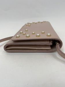 Kate Spade Women Size Small Warm Beige Cross body Clutch