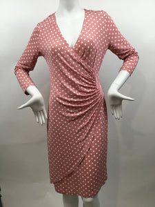 Cappellini Size 44 Pink Dress