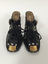 Load image into Gallery viewer, Wow! Vintage Miu Miu 8 Studded Black Mules