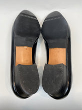 Load image into Gallery viewer, Salvatore Ferragamo Celeste Napa Calf Patent - Size 8 B - Navy
