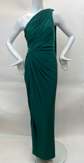 Tadashi Collection Size S Emerald Cold Shoulder Dress