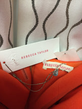 Load image into Gallery viewer, Rebecca Taylor Orange Strapless dress size 6