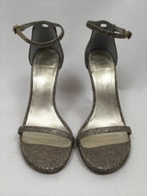Load image into Gallery viewer, Stuart Weitzman Sparkle Silver Pumps -  size 37
