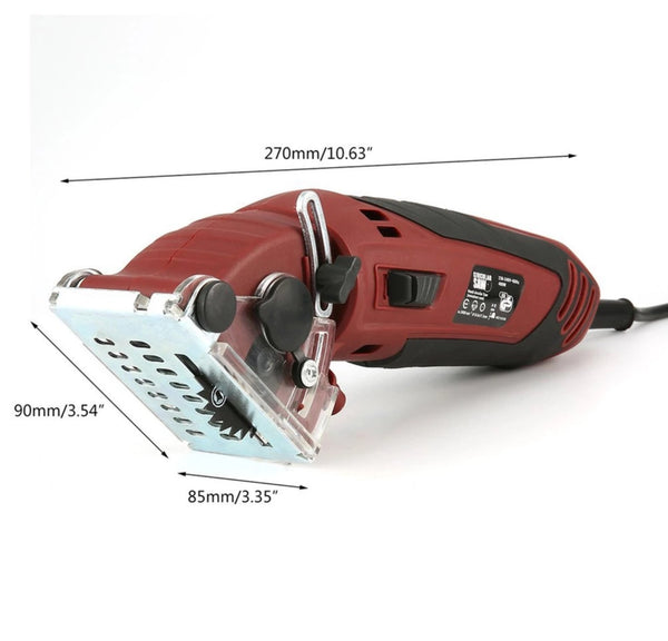 Multi-function Professional Circular Saw High Powered 400W for Ceramic Tile Grout Masonry Marble Stone