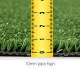 Primeturf Synthetic 10mm  0.95mx10m 9.5sqm Artificial Grass Fake Turf Olive Plants Plastic Lawn