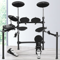 8 Piece Electric Electronic Drum Kit Drums Set Pad Tom Midi