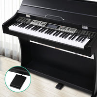 Alpha 61 Key Electronic Piano Keyboard Electric Digital with Classical Music Stand