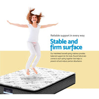 Giselle Bedding Rocco Bonnell Spring Mattress 24cm Thick – Queen