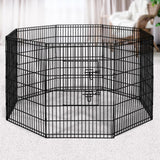 "i.Pet 2X36"" 8 Panel Pet Dog Playpen Puppy Exercise Cage Enclosure Fence Play Pen"