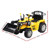 Rigo Kids Electric Ride On Bulldozer Digger