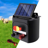 Giantz 3km Solar Electric Fence Charger Energiser