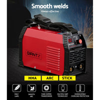Giantz 250 Amp Inverter Welder MMA ARC DC IGBT Welding Machine Stick Portable
