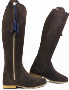Gallop Spanish long suede boots