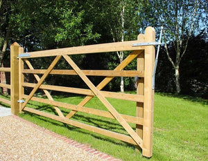5 Bar Entrance Gate (Variety Of Widths)