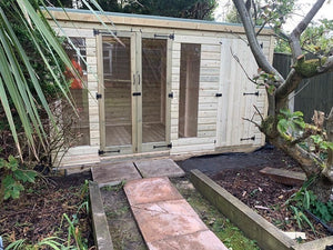 Greenview Tanalised Combination Summerhouse