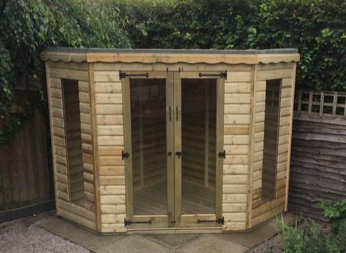 Greenview Tanalised Corner Summerhouse