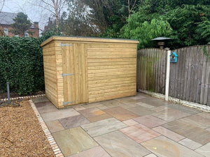Greenview Tanalised Pent Shed