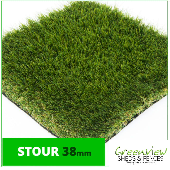 Stour Artificial Grass (38mm Luxury) - £22.99 per m2