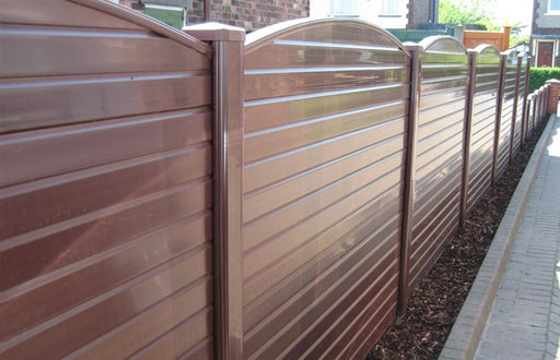UPVC Fencing (Standard) - Greenview Sheds & Fences Ltd