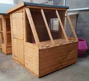 Dual (Potting Shed) - Treated - Greenview Sheds & Fences Ltd