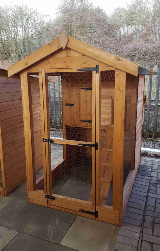 Hen house - Treated - Greenview Sheds & Fences Ltd