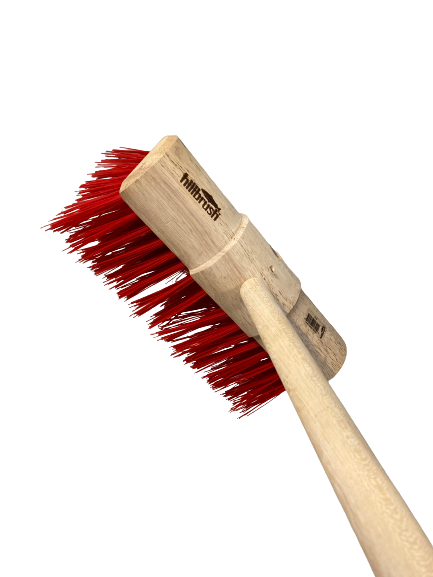 13 inch PVC Red Broom