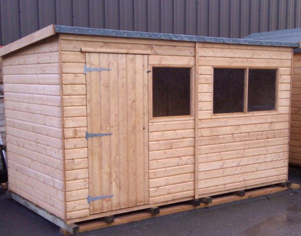Kent Pent Shed (Heavy Duty 15mm Cladding)