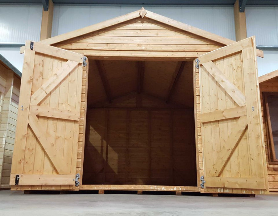 Major Apex (Treated) Heavy duty workshop - 15mm - Greenview Sheds & Fences Ltd