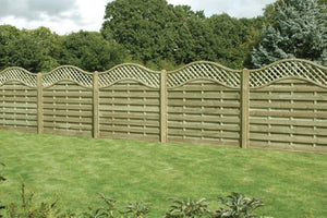 Omega Lattice Panel - Greenview Sheds & Fences Ltd