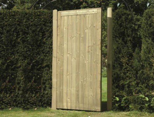Tongue & Groove Gates - Greenview Sheds & Fences Ltd