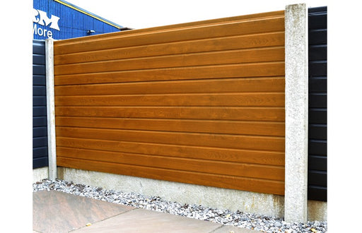 UPVC Fencing (Premium Foil) - Greenview Sheds & Fences Ltd