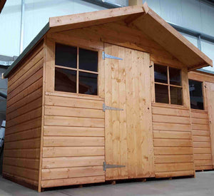 Warwick Conversion (Treated) - Greenview Sheds & Fences Ltd