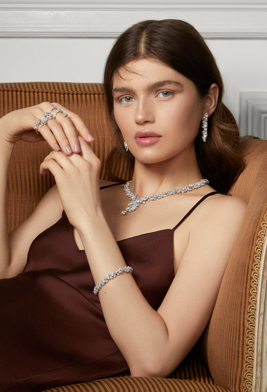 Diamond and pearl high jewellery collection from NOA