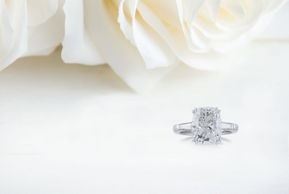 Bespoke diamond engagement rings and wedding rings London