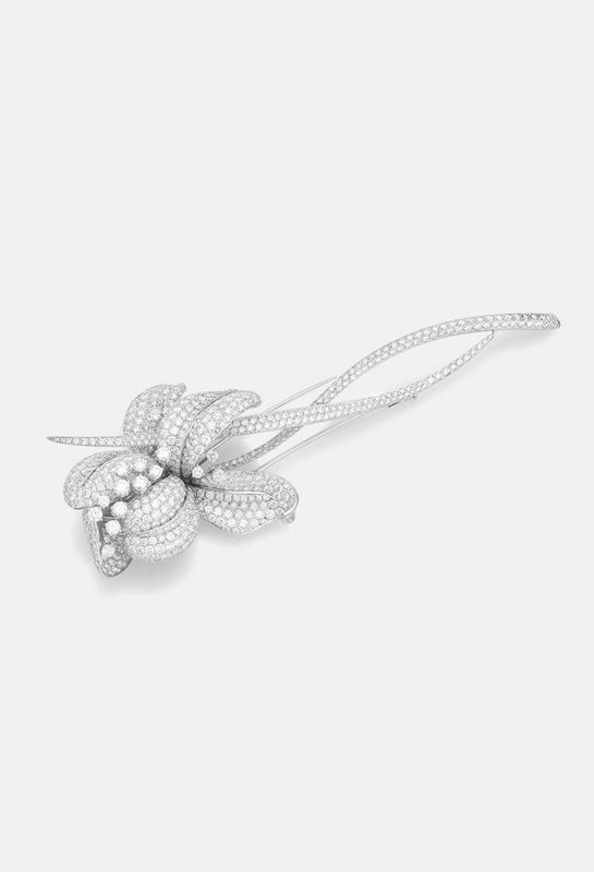 Diamond Lily Brooch from NOA's High Jewellery Collections