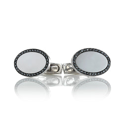 Black Diamond Cufflinks from NOA fine jewellery