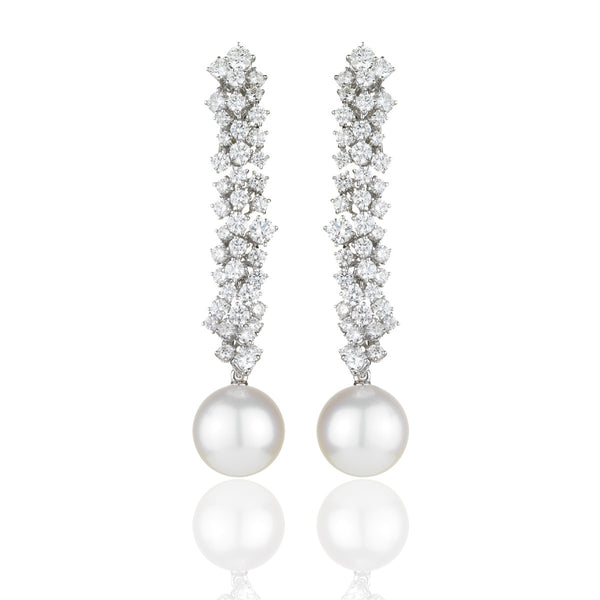 Crystal Glacier Earrings from NOA Icons by NOA fine jewellery